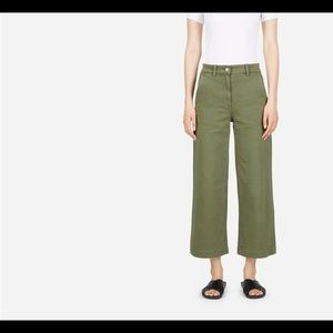 Everlane The Wide Leg Crop Pant